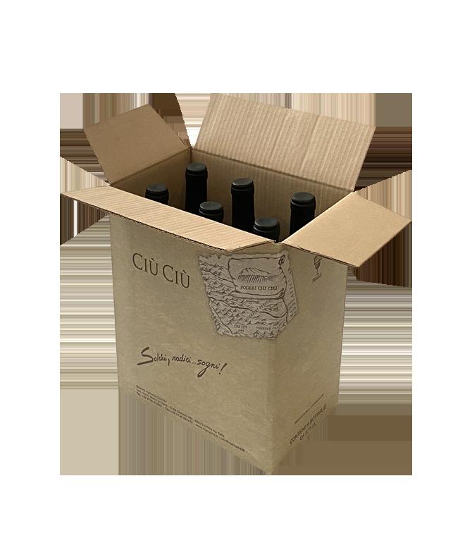 Ciù Ciù Tenimenti-Gotico-Piceno Superiore-VINO ROSSO-Bio Vegan-Offida